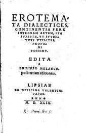 Erotemata dialectices, continentia fere integram artem (etc.)