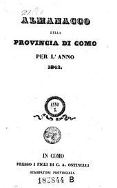 Almanacco Della Provincia Di Como: Volume 5