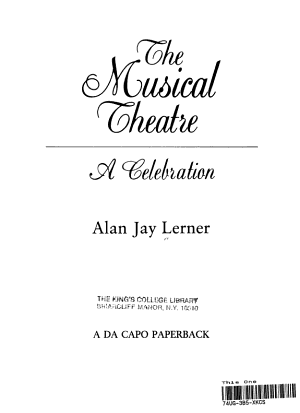 The Musical Theatre
