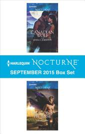 Harlequin Nocturne September 2015 Box Set: Canadian Wolf\Dragon's Promise