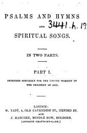 Psalms and Hymns and Spiritual Songs