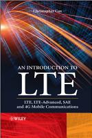 An Introduction to LTE PDF
