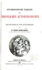 Synchronistische Tabellen zur christlichen Kunstgeschichte PDF