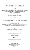 The Ancient History of the Egyptians   Carthaginians  Assyrians  Babylonians  Medes and Persians  Grecians and Macedonians PDF
