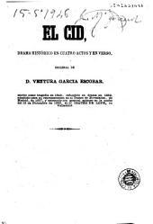 El Cid: drama histórico en cuatro actos