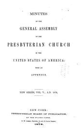 Minutes - United Presbyterian Church in the U.S.A.: Volume 5, Part 1