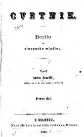 Cvetnik: berilo za slovensko mladino, Količine 1–2