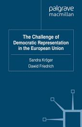 The Challenge of Democratic Representation in the European Union