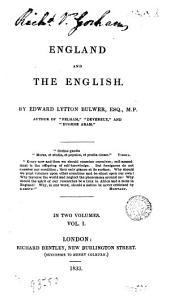 England and the English, 1