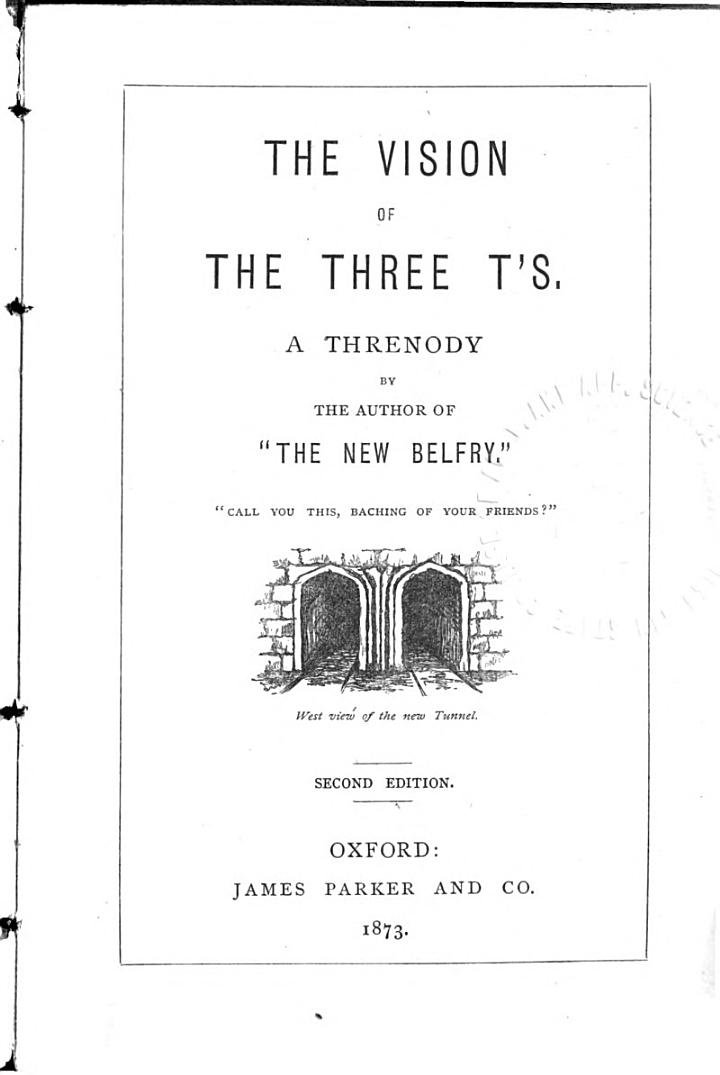 The Vision of the Three T's