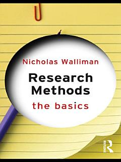 Research Methods  The Basics Book