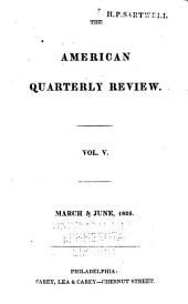 American Quarterly Review: Volume 5