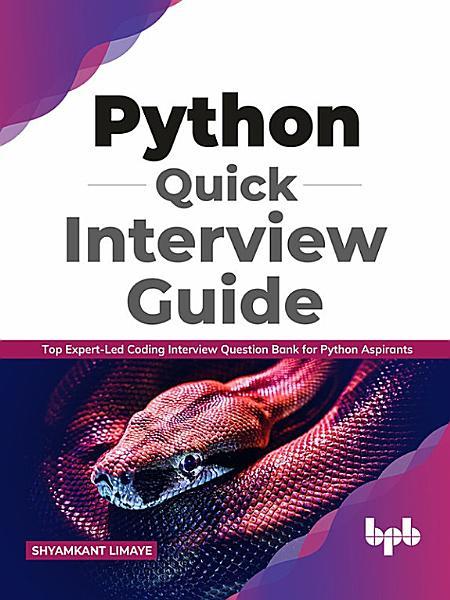 Python Quick Interview Guide PDF