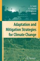 Adaptation and Mitigation Strategies for Climate Change PDF