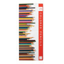 Frank Lloyd Wright Colored Pencils with Sharpener