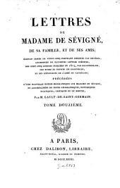 Lettres de madame de Sévigné, de sa famille, et de ses amis: Volume12