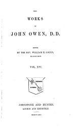 The Works of John Owen  D D  PDF
