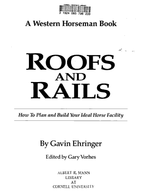 Roofs and Rails