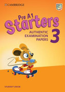 Pre A1 Starters 3 Student's Book