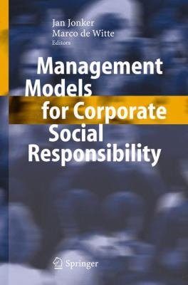 Management Models for Corporate Social Responsibility PDF