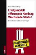 Erfolgsmodell  Metropole Hamburg   wachsende Stadt   PDF