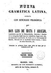 Nueva gramática latina: escrita con sencillez filosófica
