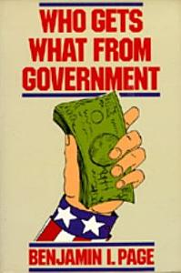 Who Gets what from Government Book