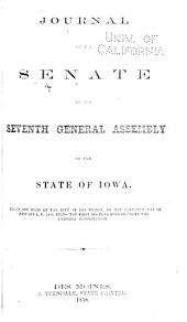 Journal of the Senate of the General Assembly of the State of Iowa: Volume 7, Part 1858