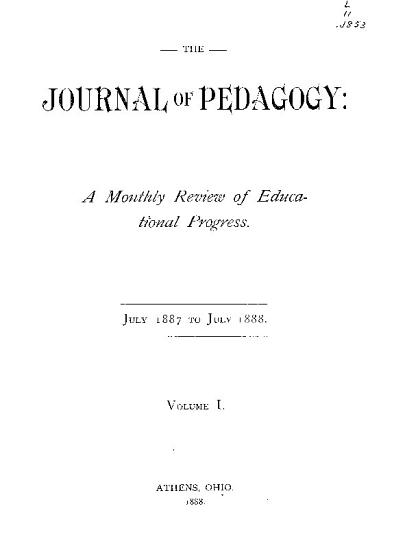 Journal of Pedagogy PDF