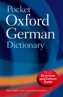 Pocket Oxford German Dictionary PDF
