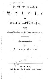 Briefe an Sophie von La Roche