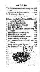 J. W.'s ... Wehr- und wahrhaffte Amazonen, oder: die Monarchie der Bienen ... Diesem ist noch beygefüget eine curieuse Piece von den Bienen [by J. P. Maraldi] ... Aus dem Englischen und Französischen ... übersetzet [with a preface by J. B. Heinzelmann].