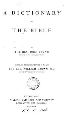 A historical     dictionary of the holy Bible PDF