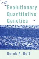 Evolutionary Quantitative Genetics PDF