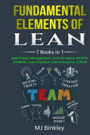 Fundamental Elements of Lean