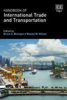 Handbook of International Trade and Transportation PDF