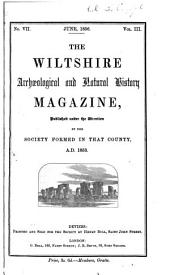 The Wiltshire Archaeological and Natural History Magazine: Volume 3