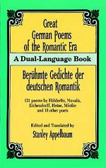Great German Poems of the Romantic Era