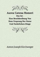 Aurea Catena Homeri PDF