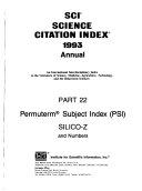 Science Citation Index PDF