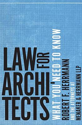 Law for Architects  What You Need to Know