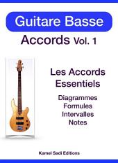 Guitare Basse Accords Vol. 1