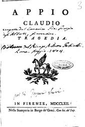 Appio Claudio tragedia