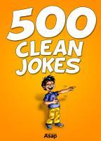 500 Clean Jokes PDF