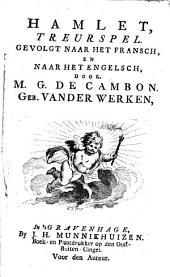 Hamlet,: treurspel, Volume 1