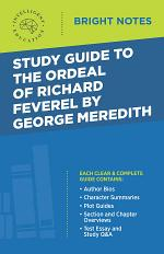 Study Guide to The Ordeal of Richard Feverel by George Meredith