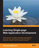 Learning Single-page Web Application Development