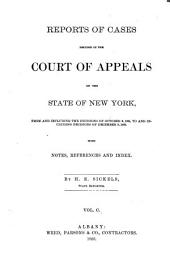 Reports of Cases Decided in the Court of Appeals of the State of New York: Volume 100
