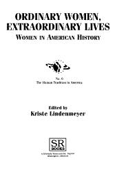 Ordinary Women Extraordinary Lives Book PDF