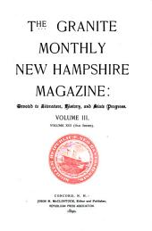 The Granite Monthly: A Magazine of Literature, History and State Progress, Volume 13